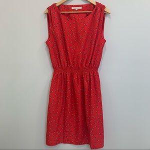 Catherine Malandrino Red Sleeveless Dress SZ L
